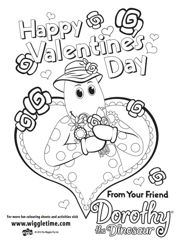 Wiggles Dorothy The Dinasour Happy Valentines Daypdf