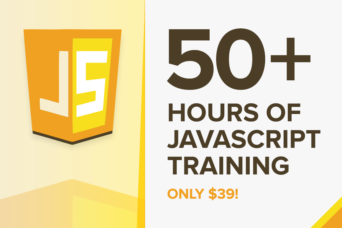 50+ Hours of Javascript Training – only $39!