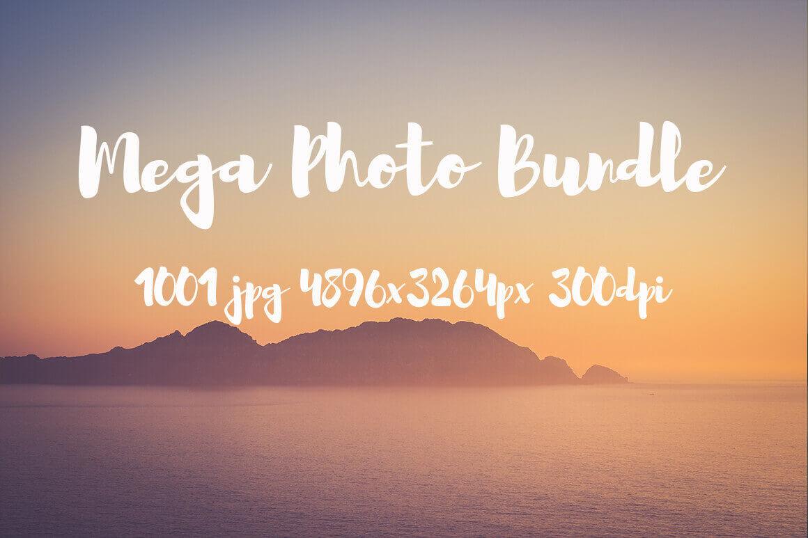 Mega Bundle! 1,000+ Hi-Res Photos – only $17!