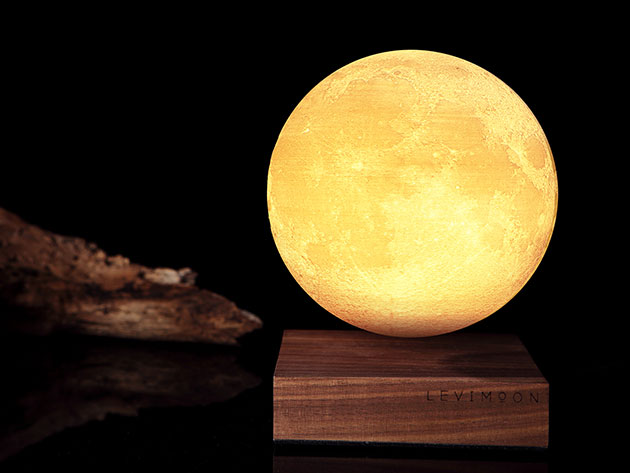 Levimoon: The World's First Levitating Moon Light for $199