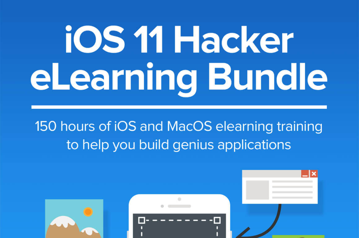 iOS 11 Hacker eLearning Bundle – only $15!