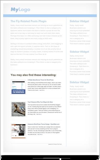 WordPress nice related posts plugin
