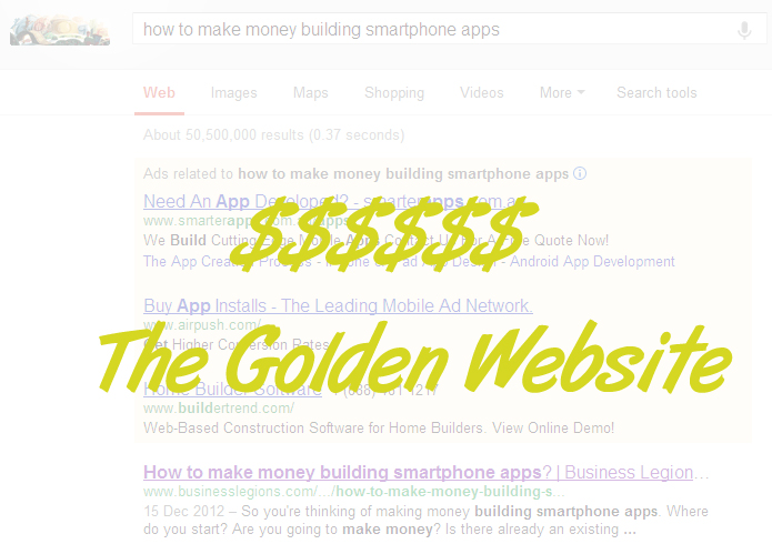 The Golden Website