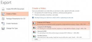 powerpoint 2013 create video2