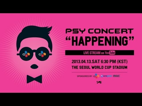 Anyone watching PSY Concert Live Stream on youtube