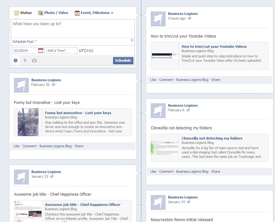 Getting more views for your Facebook Page post