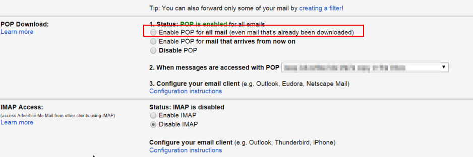 How to backup your Gmail emails to another Gmail account