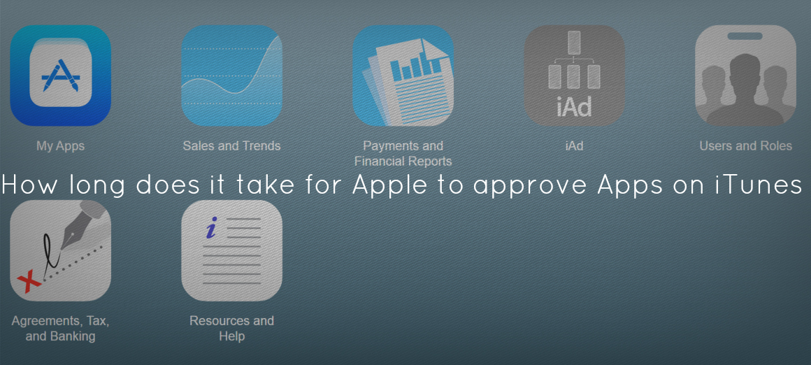 How long does it take for Apple to approve Apps on iTunes?