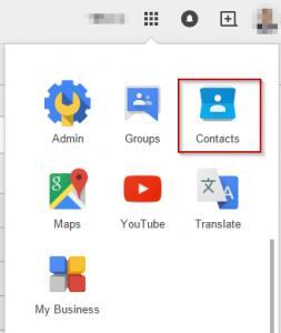 Google Gmail Contacts