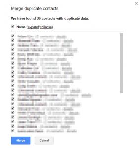 Merge Documents - duplicates