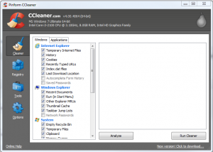 It's time to clean up your computer with CCleaner