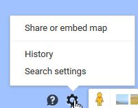 Google Maps Share or Embed Map