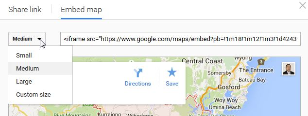 How to Embed or Share your Google Maps