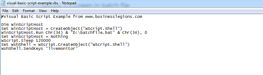 Using Screencapture IcyScreen in batch file -Business