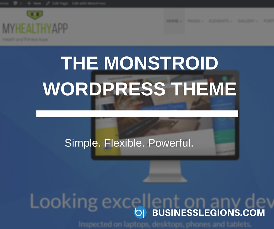 The Monstroid WordPress Theme