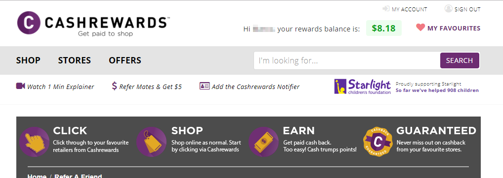 Business Legions - Cashrewards