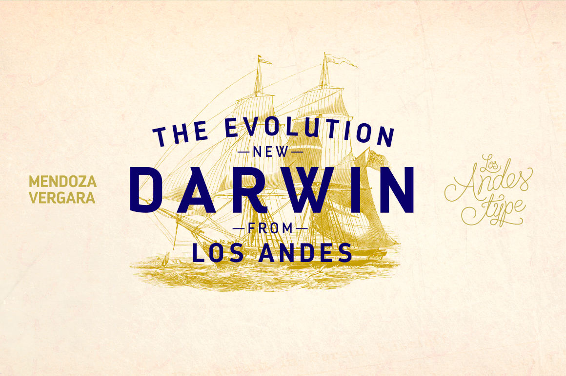 Evolve Your Artwork with the Darwin Font Family – 20 fonts for only $15!