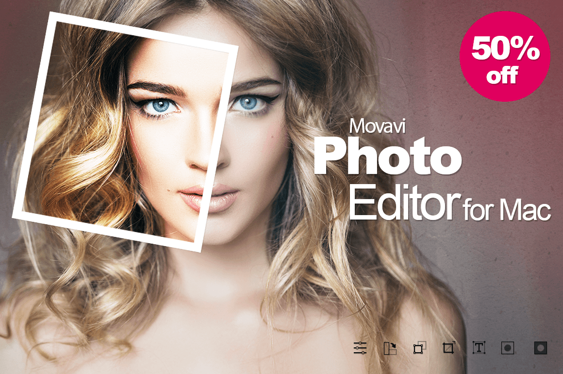 MOVAVI: A Professional Photo Editor for Mac – only 14!
