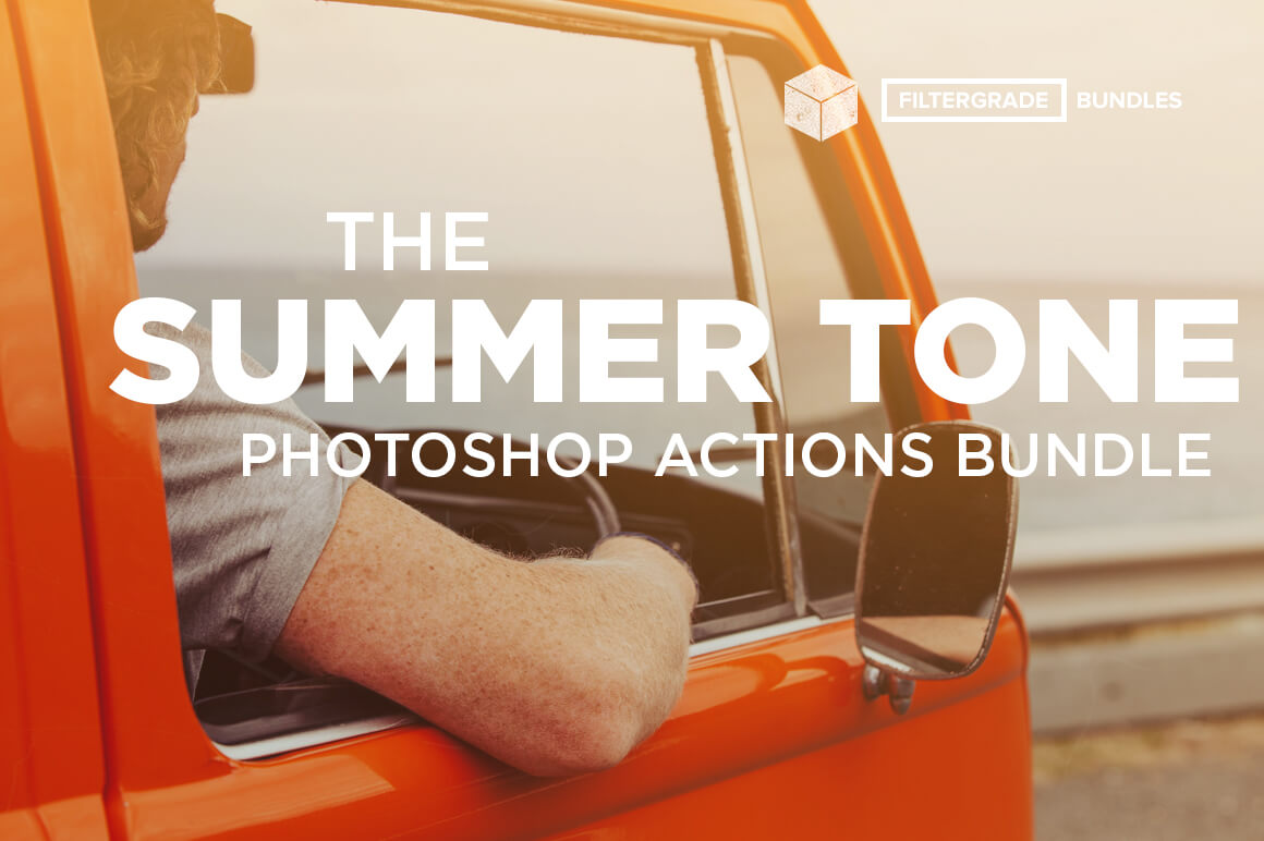 150+ Gorgeous Summer Tone Photoshop Actions & Brushes – $24!