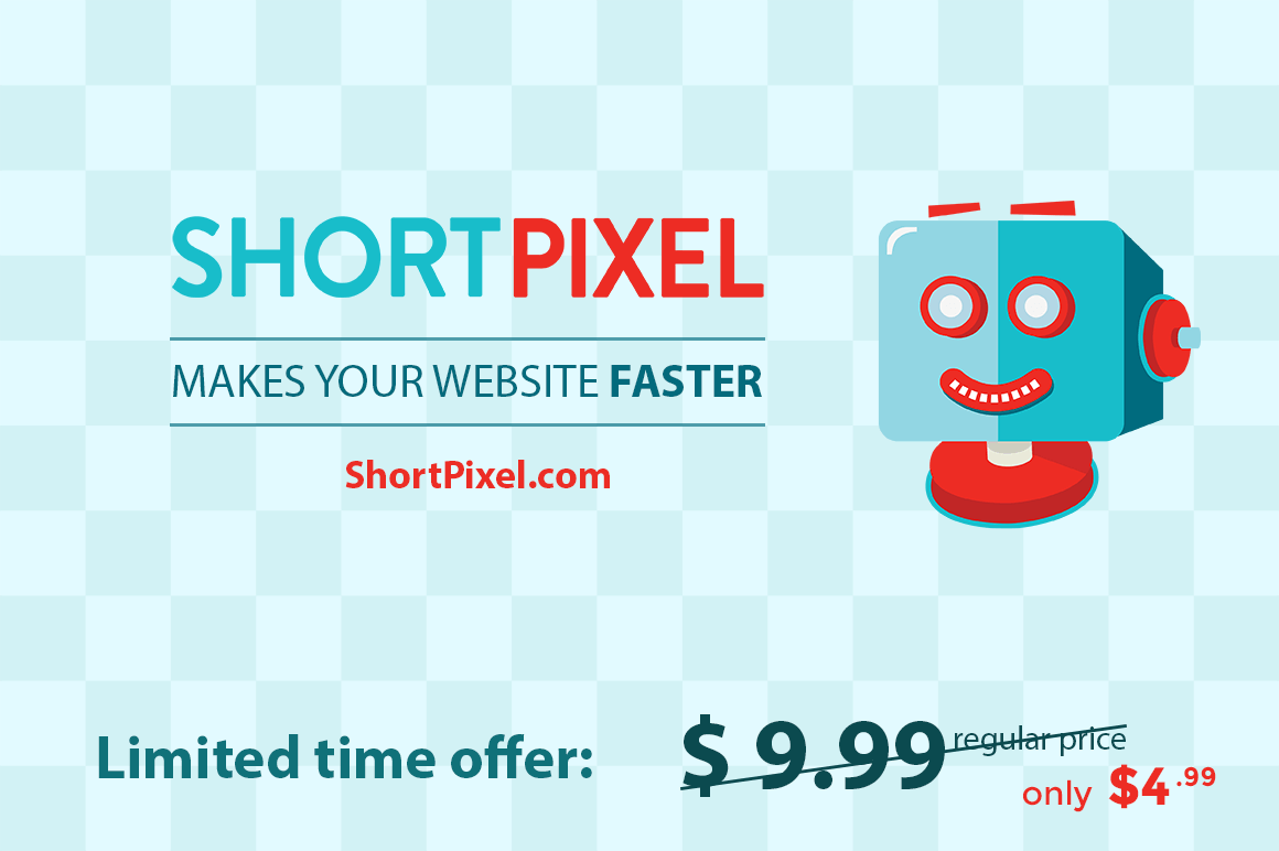 Instantly Optimize Your Site's Images with the ShortPixel WP Plugin – only $4.99!
