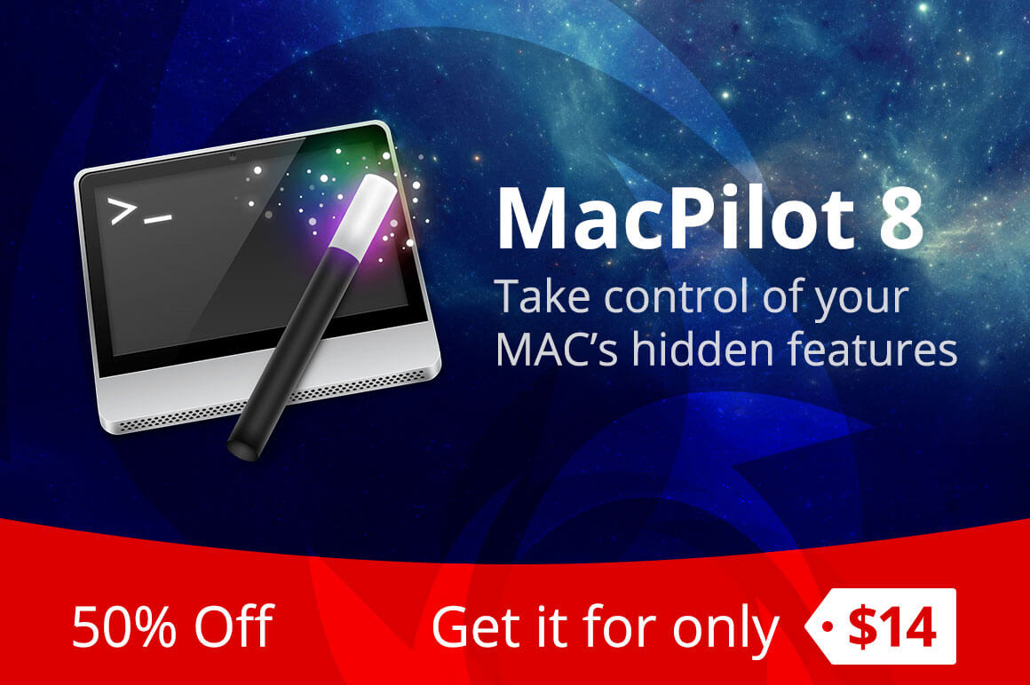 Quickly and Easily Customize your Mac with MacPilot 8 – only $14!