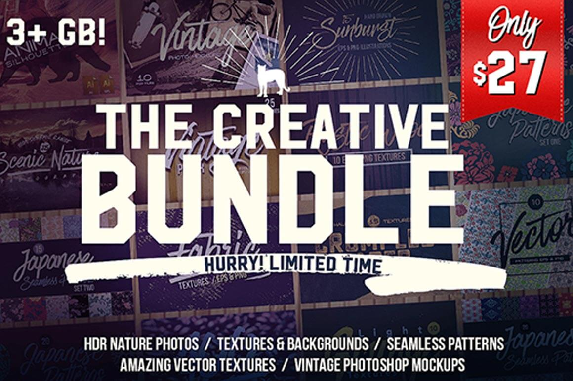 The Creative Bundle  (worth $550) – only $27!