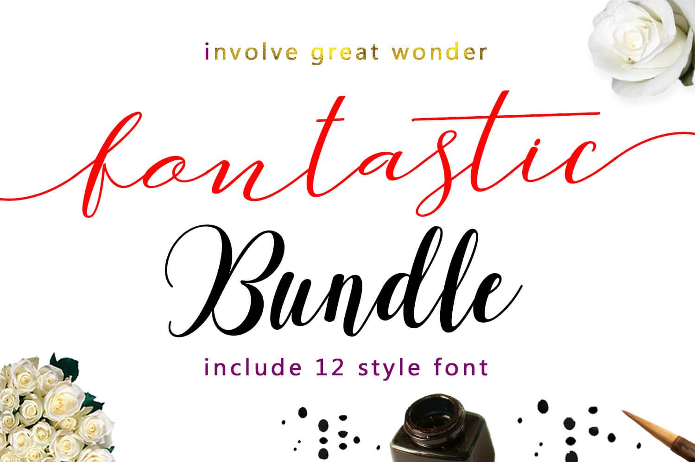12 Gorgeous Modern Script Typefaces  – $12!