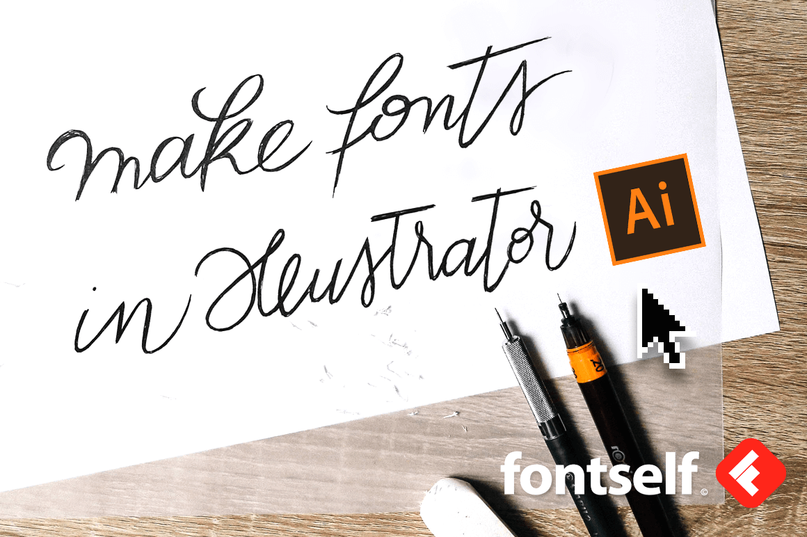 Create Your Own Fonts in Minutes Right Inside lllustrator CC – only $24!
