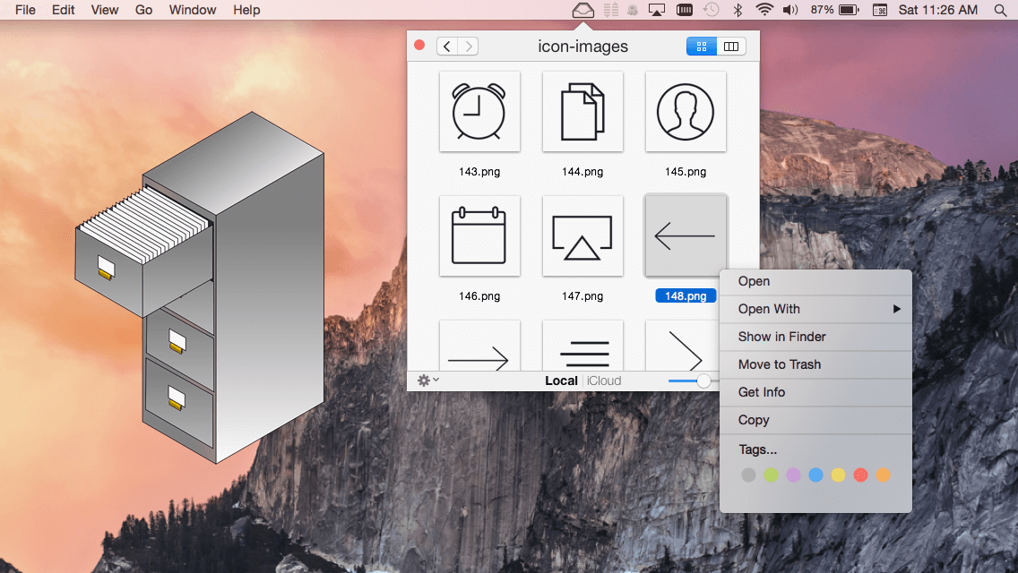 Get Menubar File Control with File Cabinet Pro for Mac – only $14!