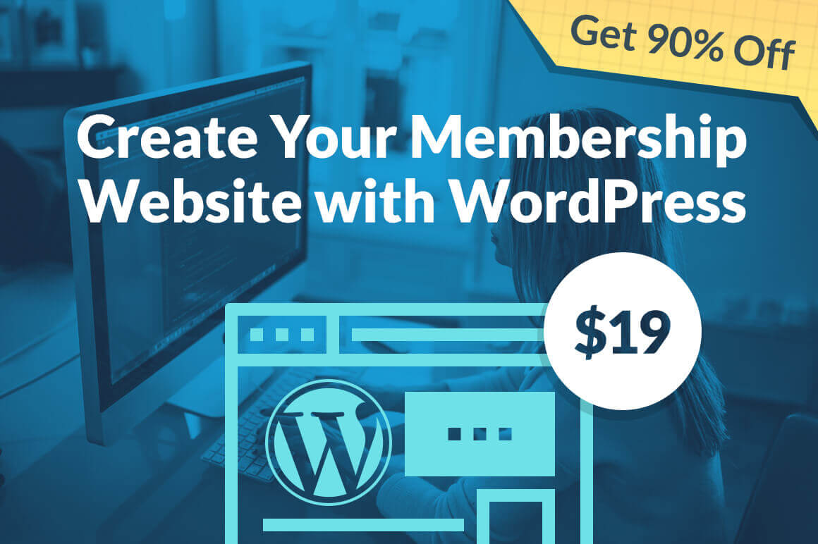 Online Course: Create Your Membership Website with WordPress – only $19