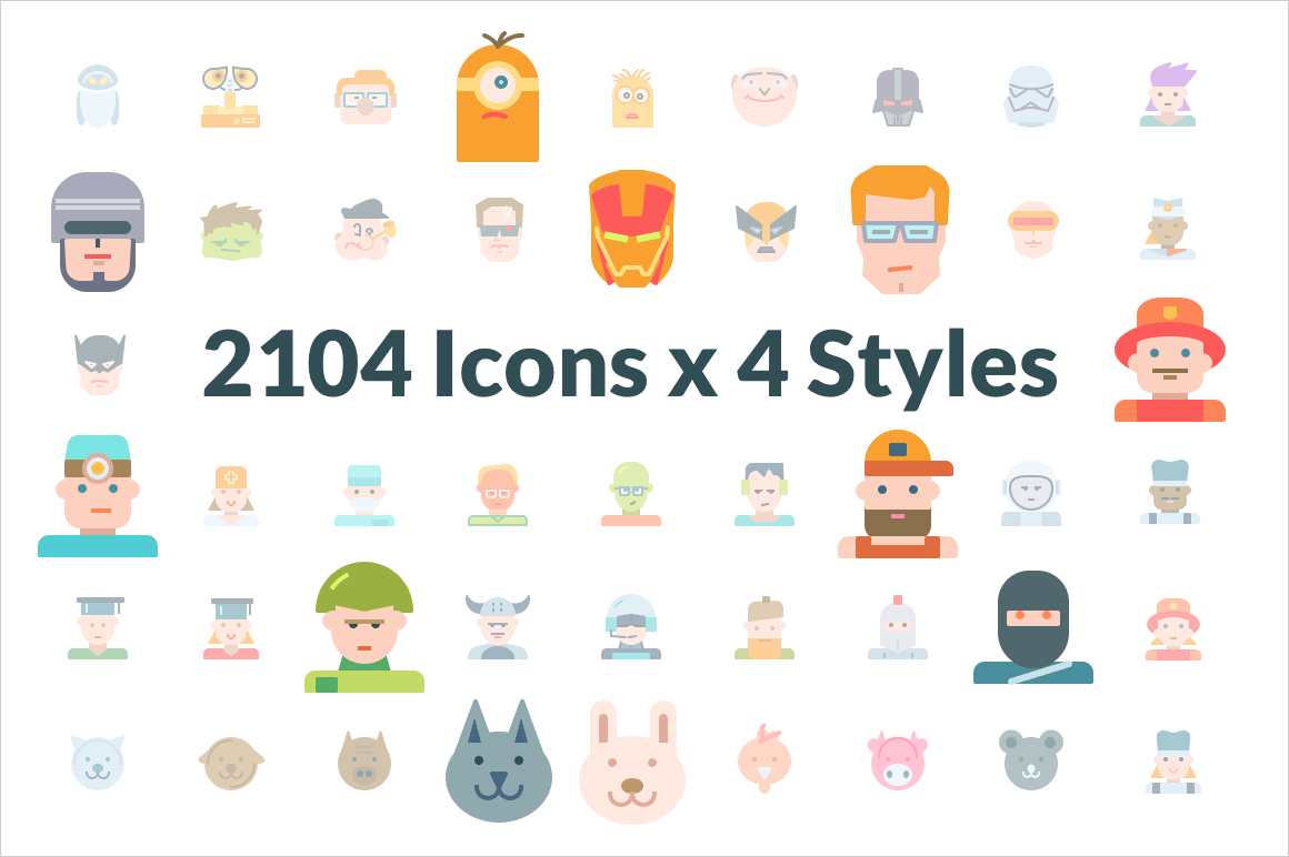 2000+ Premium Swifticons Icons (in 4 Styles) – only $29!