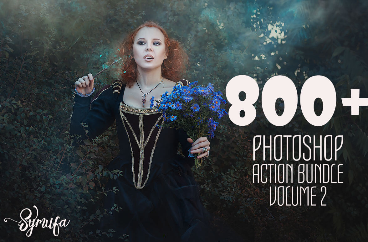 800+ Professional Photoshop Actions Bundle – only $19!