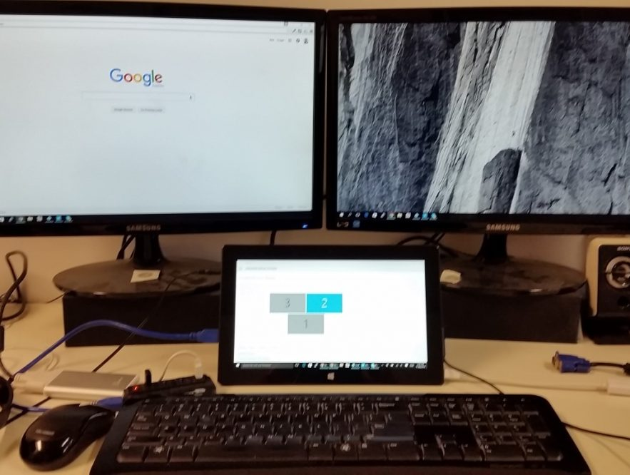 Surface Pro 2 - 3 Screens