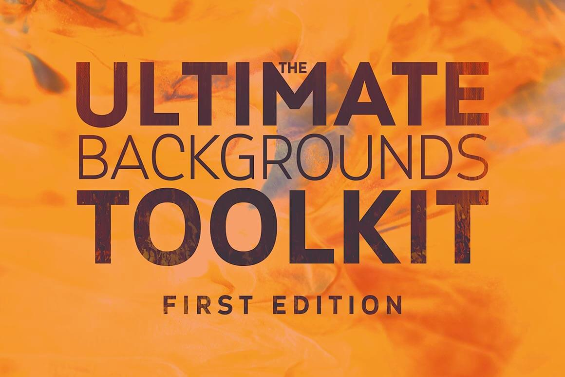 The Ultimate Backgrounds Toolkit with 300 Images – only 12!