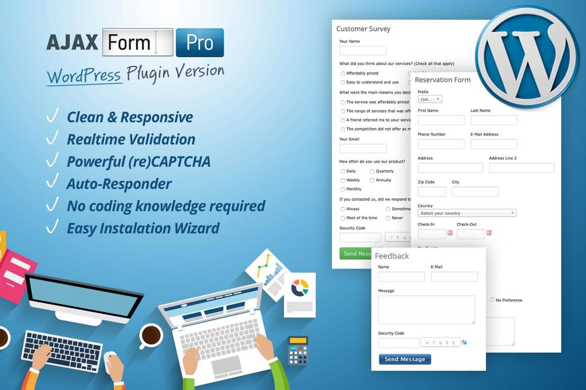 WordPress Form Builder without Any Coding Knowledge – only $11!