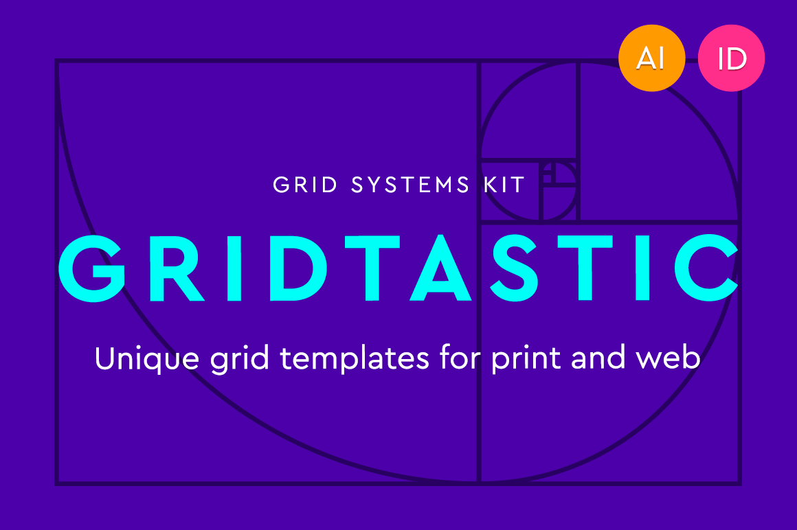 Gridtastic Grid Kit of 30 Grid Systems, 180 Templates – only $7.50!