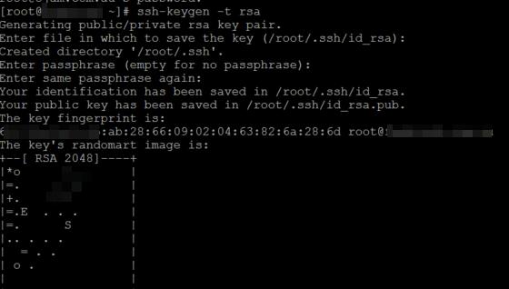 Rsync SSH Keygen