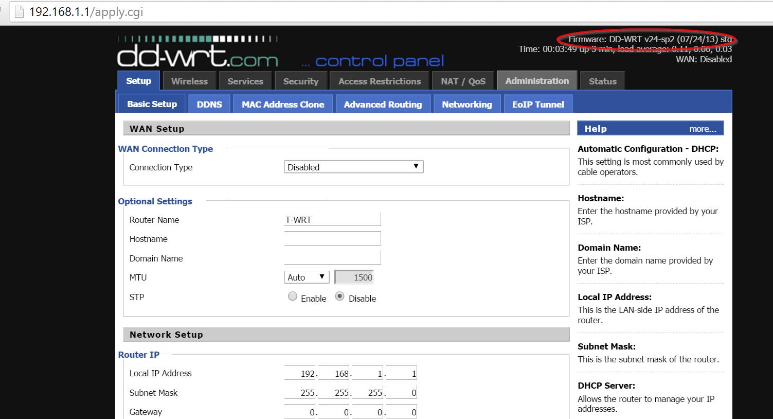 DD-WRT TP-LINK WA830RE Firmware
