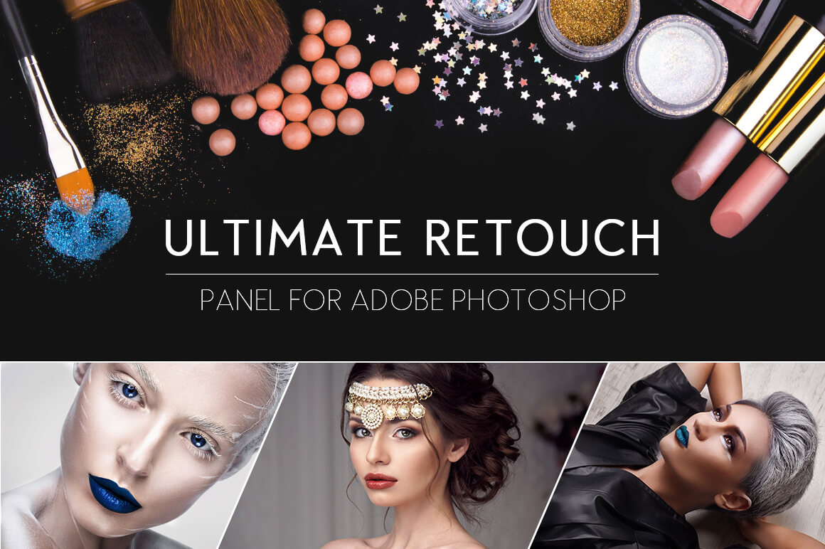Ultimate Retouch Panel 3.0 for Adobe Photoshop – only $17!
