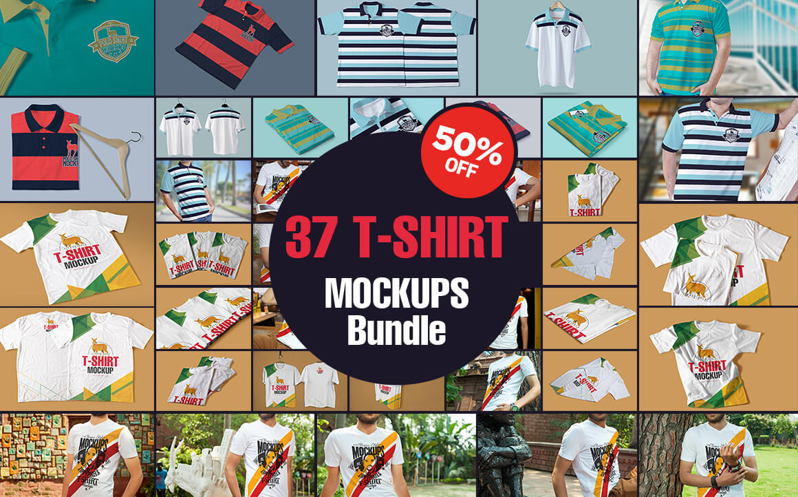 74 Photo-Realistic Apparel and Label Mockups from Zippy Pixels – only $14!