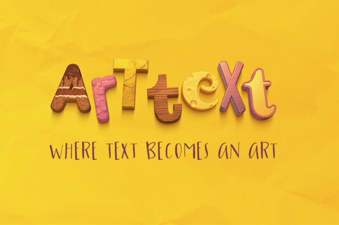 Art Text App for Mac Turns Text into a Masterpiece – only $19!