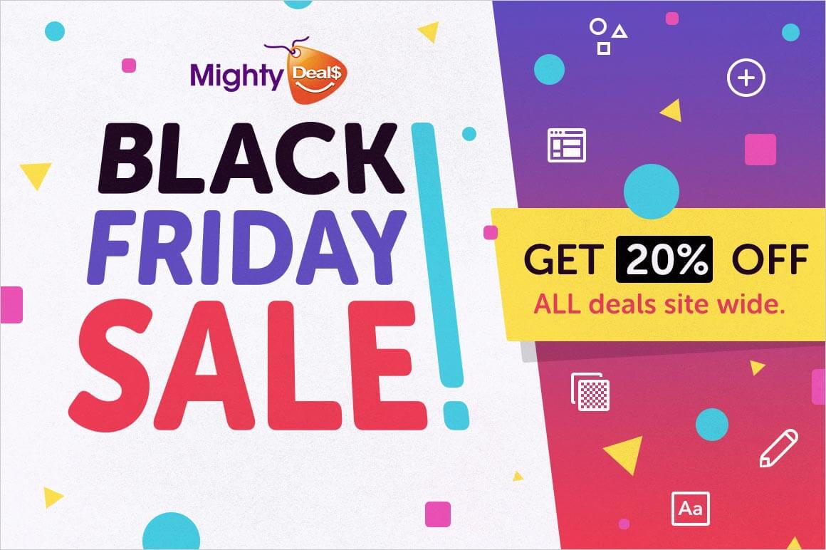 Mighty Deals Black Friday Sale – 20% off ALL DEALS!