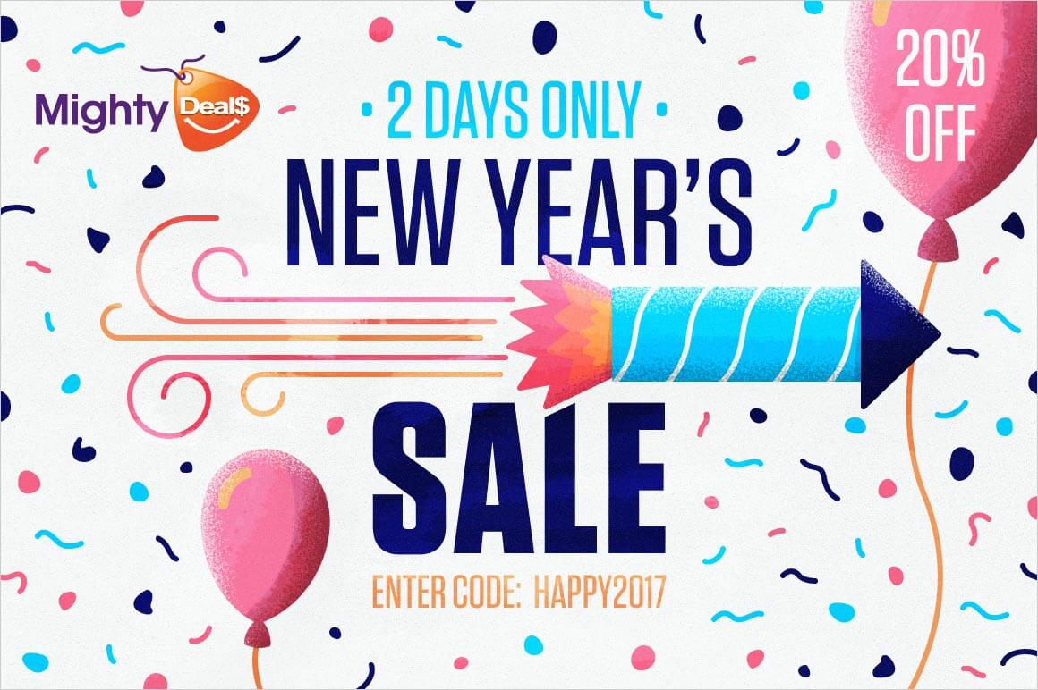 Mighty Deals New Year's Sale – 20% off ALL DEALS!