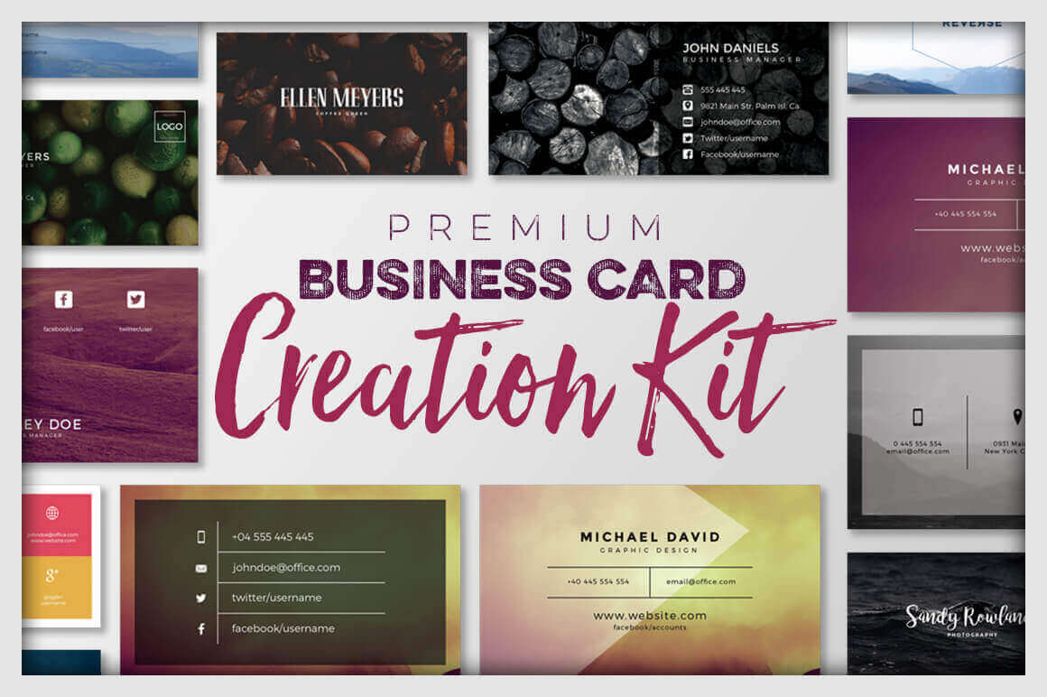 Robust Business Card Creation Kit from Graphicdome  – only $9!