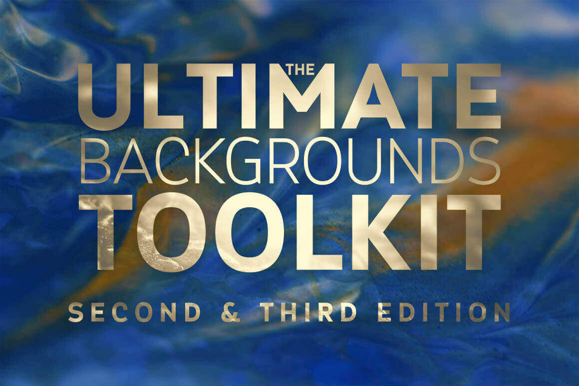 The Ultimate Backgrounds Toolkit 2 & 3 with 750 images – only $15!