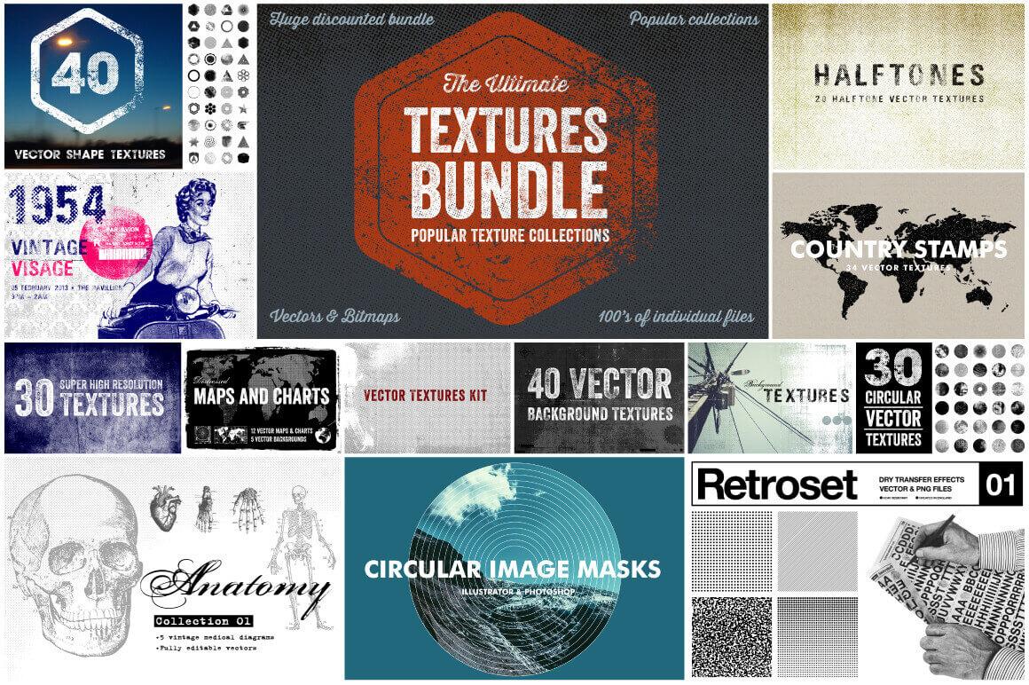 Bundle of Bundles: 300+ Design Elements from Offset – only $27!