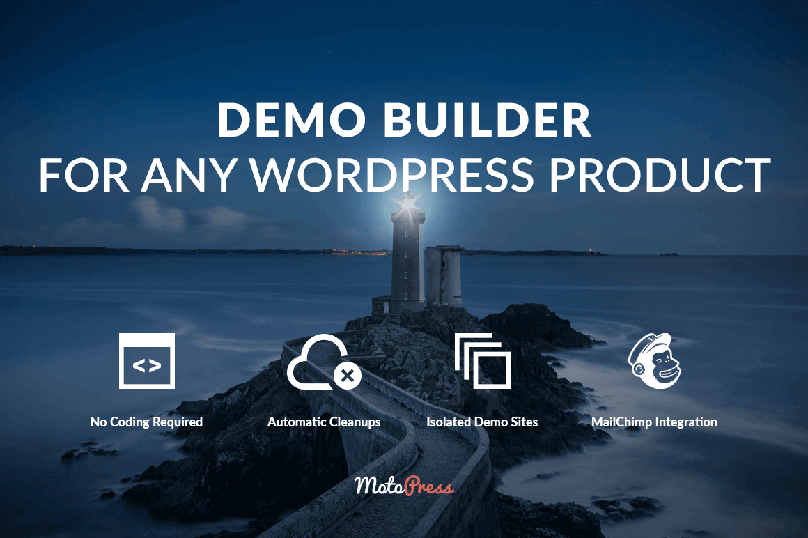 Demo Builder:  Create beautiful demos and trial accounts for any WordPress product – only $9!