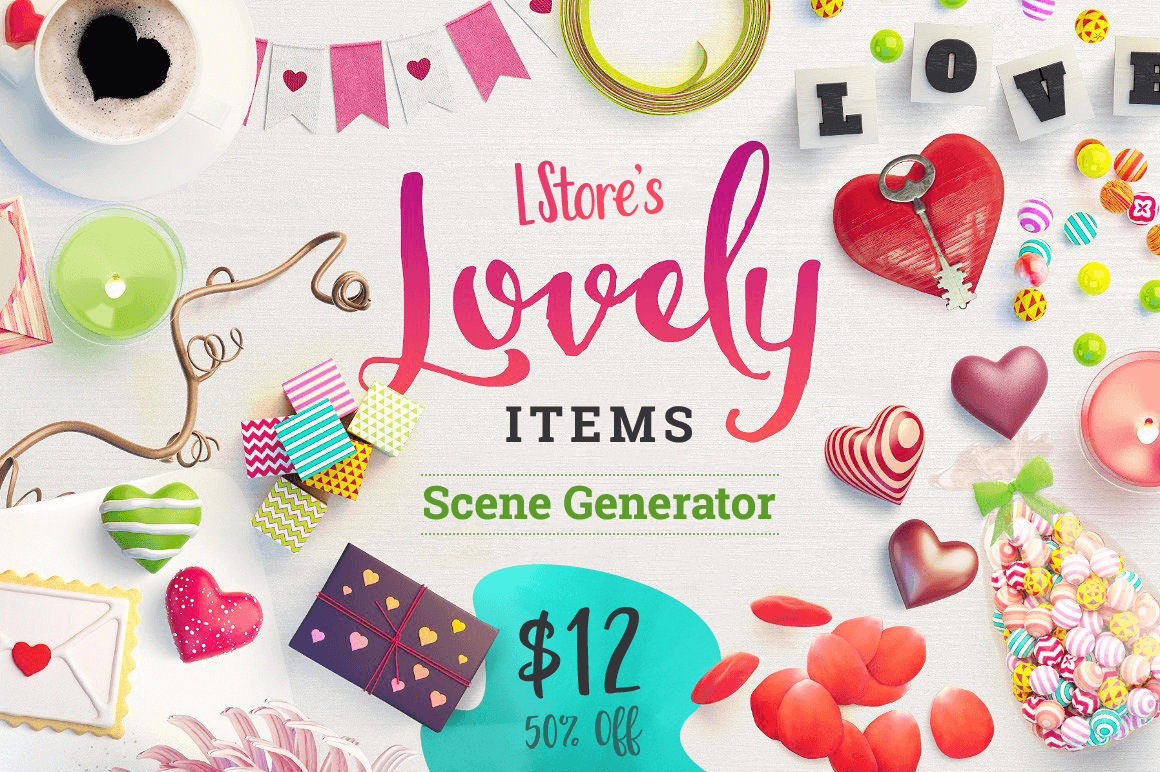 Lovely Items: Drag and Drop Scene Generator – only $12!