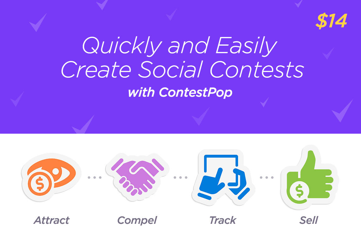 Quickly and Easily Create Social Contests with ContestPop – only $14!