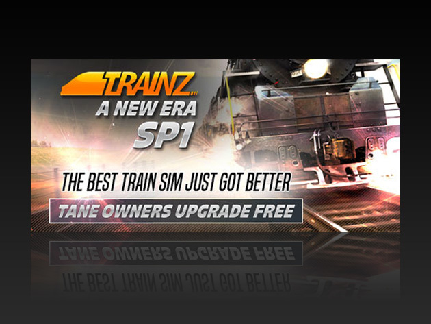 Trainz: A New Era Deluxe Bundle for $19